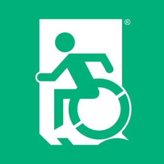 Accessible Exit Sign Project, Egress Group, Accessible Means of Egress Icon