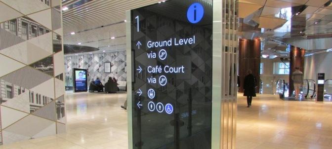 Emporium Melbourne Accessible Exit Signs Means of Egress