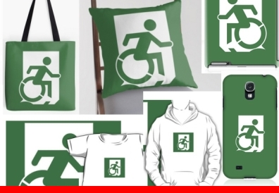 Exit Incorporated Accessible Means of Egress Exit Sign Merchandise
