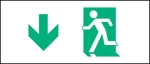 Egress Group Running Man Exit Sign 25