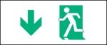 Egress Group Running Man Exit Sign 25
