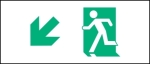 Egress Group Running Man Exit Sign 5