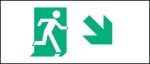 Egress Group Running Man Exit Sign 65