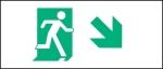 Egress Group Running Man Exit Sign 65
