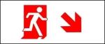 Egress Group Running Man Exit Sign 67