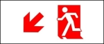Egress Group Running Man Exit Sign 7