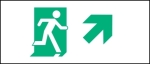 Egress Group Running Man Exit Sign 75