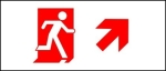 Egress Group Running Man Exit Sign 77