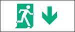 Egress Group Running Man Exit Sign 85