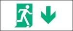 Egress Group Running Man Exit Sign 85