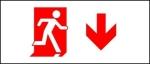 Egress Group Running Man Exit Sign 87