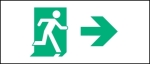 Egress Group Running Man Exit Sign 95