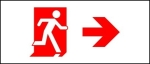 Egress Group Running Man Exit Sign 97