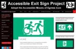 The Accessible Exit Sign Project