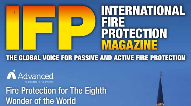 My Article in Issue 61 of International Fire Protection Magazine: Planning for Evacuating People with Disability
