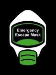 Emergency Escape Mask Sign, © Egress Group 1