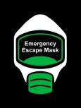 Emergency Escape Mask Sign, © Egress Group 10