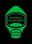 Emergency Escape Mask Sign, © Egress Group 11