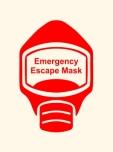 Emergency Escape Mask Sign, © Egress Group 15