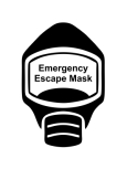 Emergency Escape Mask Sign, © Egress Group 2