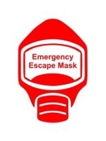 Emergency Escape Mask Sign, © Egress Group 4
