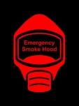Emergency Escape Smoke Hood Mask Sign, © Egress Group 2