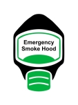 Emergency Escape Smoke Hood Mask Sign, © Egress Group 9