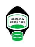 Emergency Escape Smoke Hood Mask Sign, © Egress Group 9